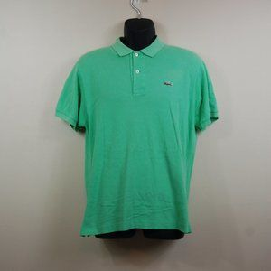 LaCoste Mint Green Polo Size 5 Large